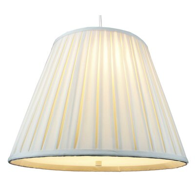 Ekstrom 2-Light Mini Pendant Shade Color: Egg Shell
