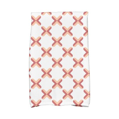 Criss Hand Towel Color: Orange