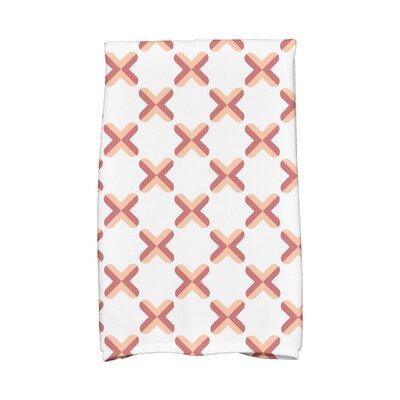 Criss Hand Towel Color: Orange