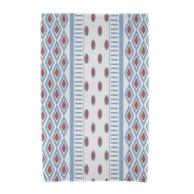 Upscale Getaway Scrambled Beach Towel Color: Light Blue