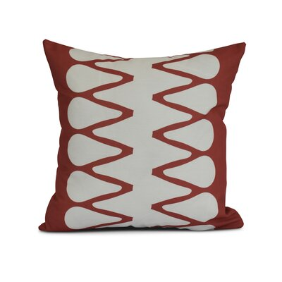 Upscale Getaway Outdoor Throw Pillow Size: 18 H x 18 W x 3 D, Color: Orange