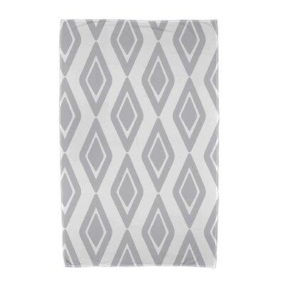 Upscale Getaway Diamond Jive 1 Beach Towel Color: Gray