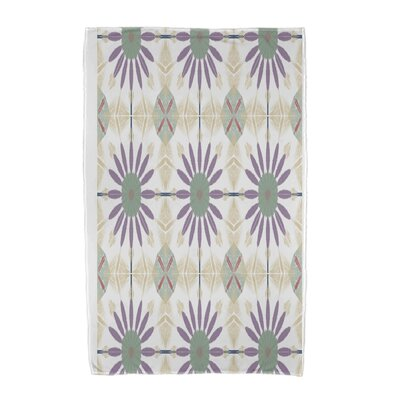 Geometric Beach Towel Color: Green