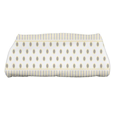Comb Bath Towel Color: Yellow/Gray