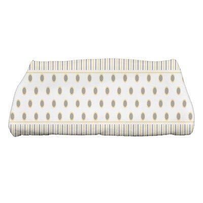 Comb Bath Towel Color: Yellow/Gray