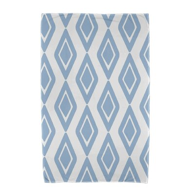 Upscale Getaway Diamond Jive 1 Beach Towel Color: Light Blue