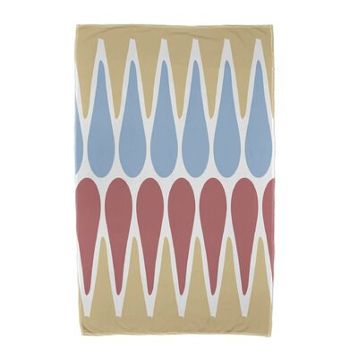 Beach Towel Color: Yellow/Light Blue/Orange