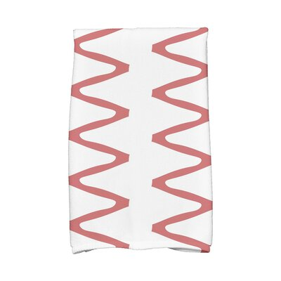 Zipped Hand Towel Color: Orange