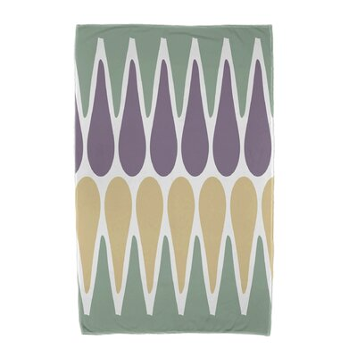Beach Towel Color: Green/Purple/Yellow