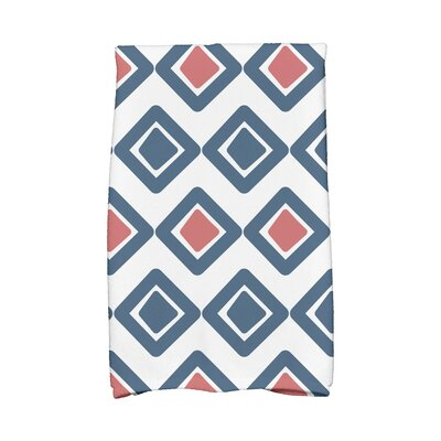 2 Hand Towel Color: Navy Blue