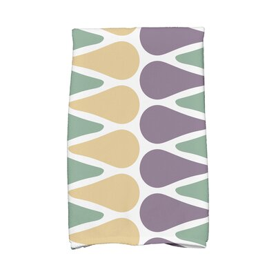 Picks Hand Towel Color: Green/Yellow/Purple
