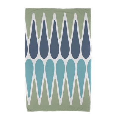 Beach Towel Color: Green/Navy/Aqua