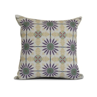 Elaine Outdoor Throw Pillow Size: 20 H x 20 W x 3 D, Color: Green