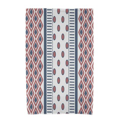 Upscale Getaway Scrambled Beach Towel Color: Orange