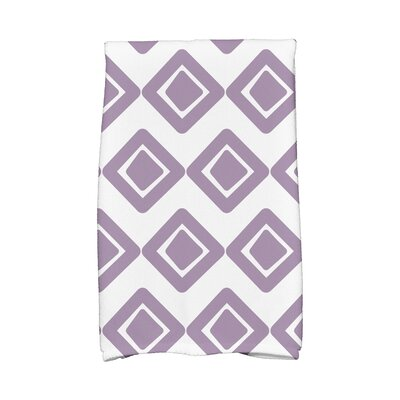 Jive 1 Hand Towel Color: Purple