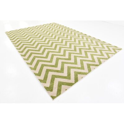 Pablo Green Area Rug Rug Size: 8 x 114