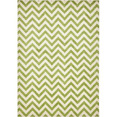Del Rio Green Area Rug Rug Size: Rectangle 8 x 114