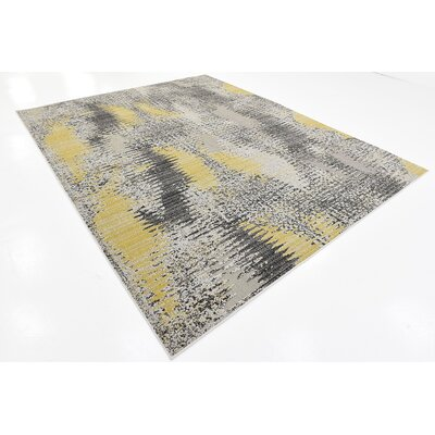Rae Ivory Indoor/Outdoor Area Rug Rug Size: 8' x 10'