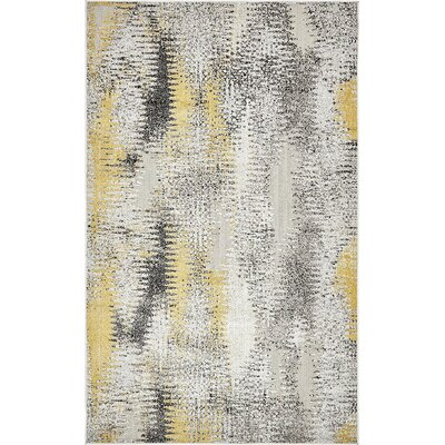 Christian Ivory Indoor / Outdoor Area Rug Rug Size: 5 x 8