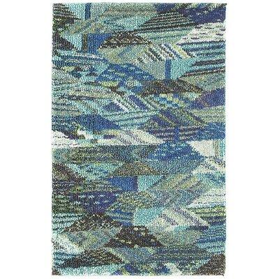Irinna Blue Area Rug Rug Size: 2 x 3