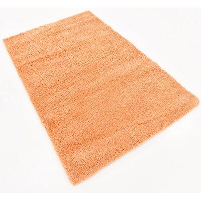 Truett Orange Area Rug Rug Size: Rectangle 33 x 53
