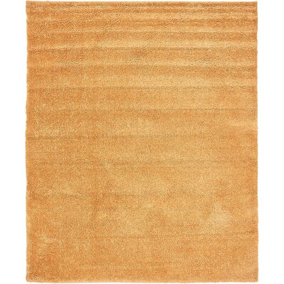 Truett Orange Area Rug Rug Size: Rectangle 8 x 10