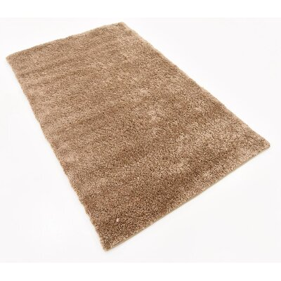 Truett Light Brown Area Rug Rug Size: Rectangle 33 x 53