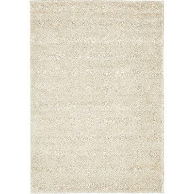 Truett Ivory Area Rug Rug Size: Rectangle 5 x 77