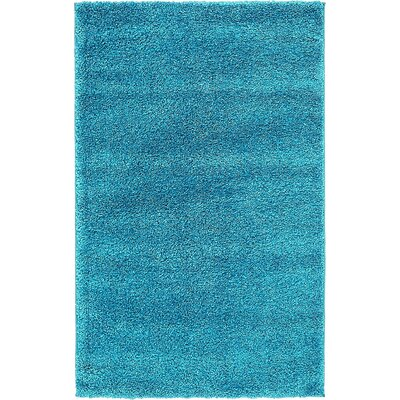 Truett Turquoise Area Rug Rug Size: Rectangle 3'3