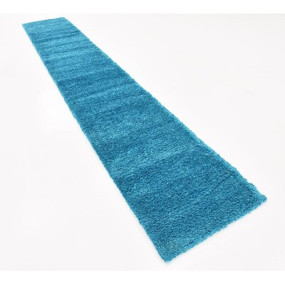 Craig Turquoise Area Rug Rug Size: Runner 22 x 13