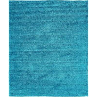 Truett Turquoise Area Rug Rug Size: Rectangle 8 x 10