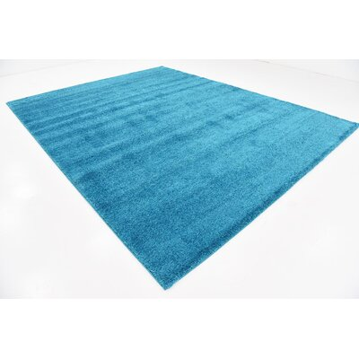Truett Turquoise Area Rug Rug Size: Rectangle 10' x 13'