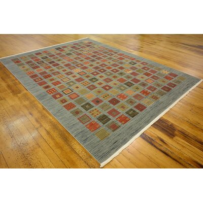 Janis Blue Area Rug Rug Size: 9 x 12