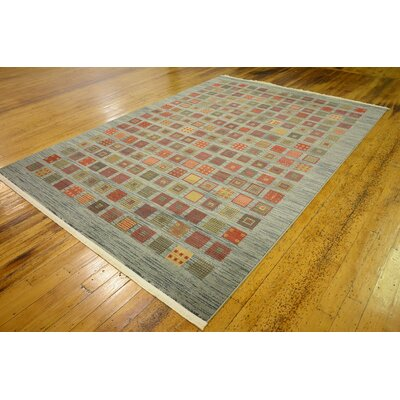 Janis Blue Area Rug Rug Size: 7 x 10