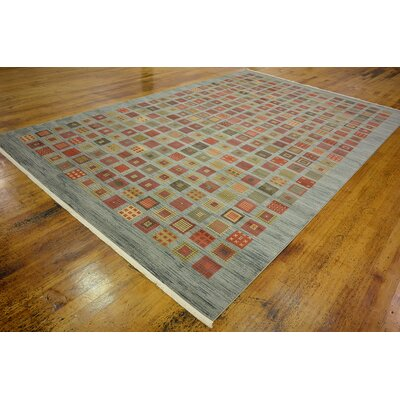Janis Blue Area Rug Rug Size: 106 x 165