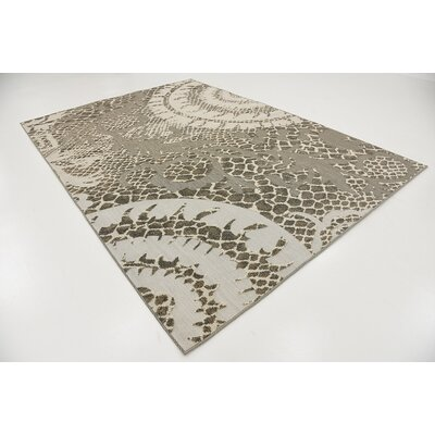Annice Cream Indoor/Outdoor Area Rug Rug Size: 7' x 10'