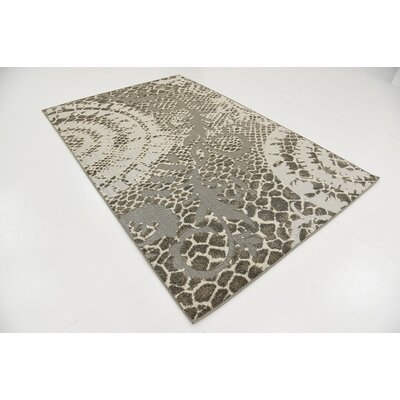 Annice Cream Indoor/Outdoor Area Rug Rug Size: 5 x 8