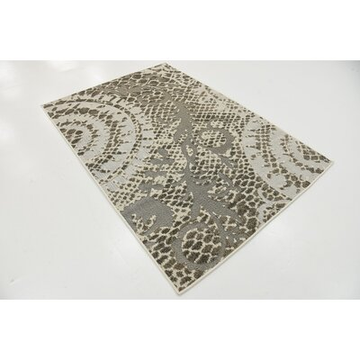 Annice Cream Indoor/Outdoor Area Rug Rug Size: 4 x 6