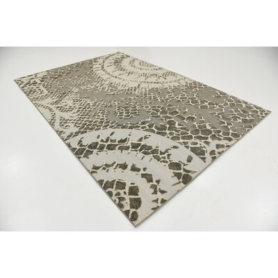 Annice Cream Indoor/Outdoor Area Rug Rug Size: 6 x 9
