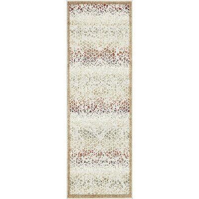 Lorenza Beige Indoor/Outdoor Area Rug Rug Size: Runner 2 x 6
