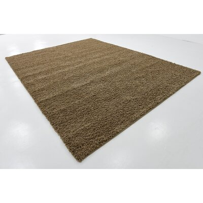 Katherin Brown Area Rug Rug Size: 8 x 11