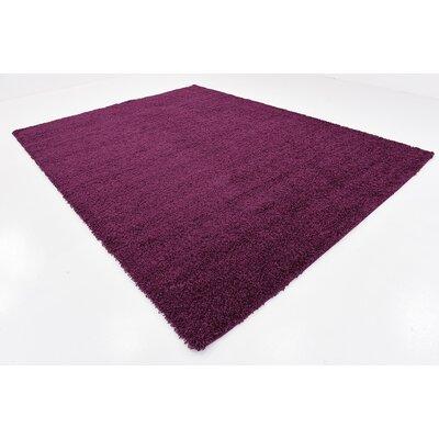 Purple Area Rug Rug Size: 9 x 12