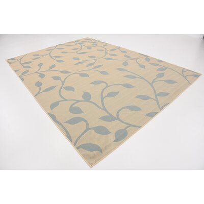 Glendora Beige Outdoor Area Rug Rug Size: Rectangle 8 x 114