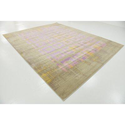 Tamera Lavender Area Rug Rug Size: 8 x 10