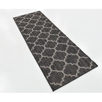 David Black Outdoor Area Rug