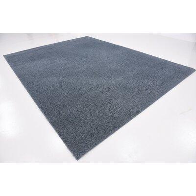 Karole Slate Blue Area Rug Rug Size: 9 x 12