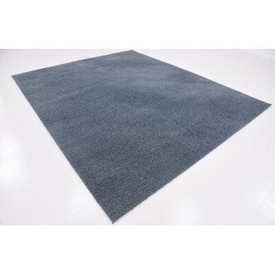 Karole Slate Blue Area Rug Rug Size: 8 x 10