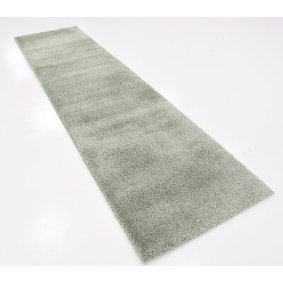 Vicky Sage Green Area Rug Rug Size: Runner 27 x 10