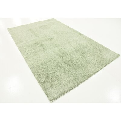 Korth Sage Green Area Rug Rug Size: Rectangle 5 x 8