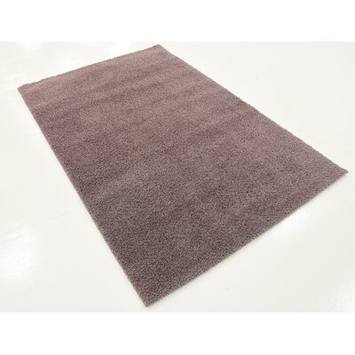 Therese Mauve Area Rug Rug Size: 5 x 8